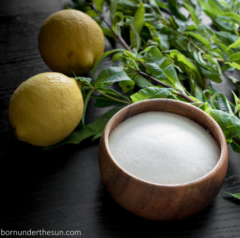 Lemon verbena simplesyrup